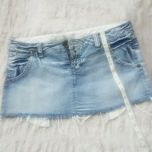 Mini Denim Guess skirt